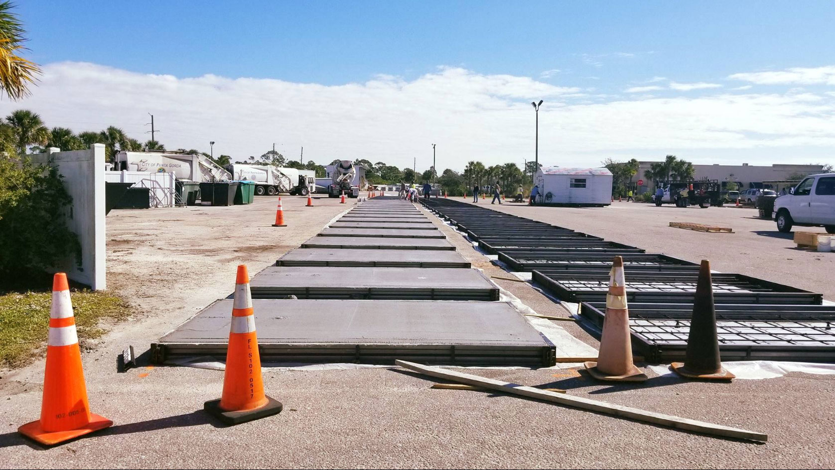 City of Punta Gorda Seawall Panels